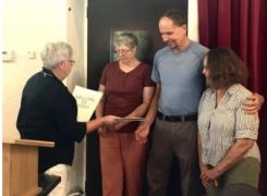 Don, Lauren and Angela welcomed as new members